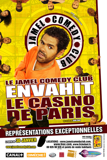 CLUB ENVAHIT CASINO LE DE COMEDY PARIS TÉLÉCHARGER JAMEL
